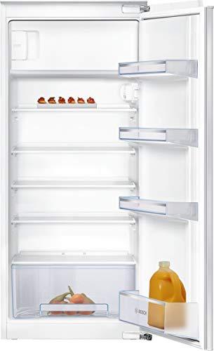Bosch KIL24NFF0 Serie 2 Einbau-Kühlschrank mit Gefrierfach / F / 122,5 cm Nischenhöhe / 189 kWh/Jahr / 183 L Kühlteil / 17 L Gefrierteil / MultiBox / FreshSense