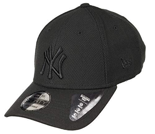 New Era Diamond Era 9forty York Yankees - Gorra Unisex, Unisex Adulto, Gorra, Hombres, 12040560, Negro, Talla única