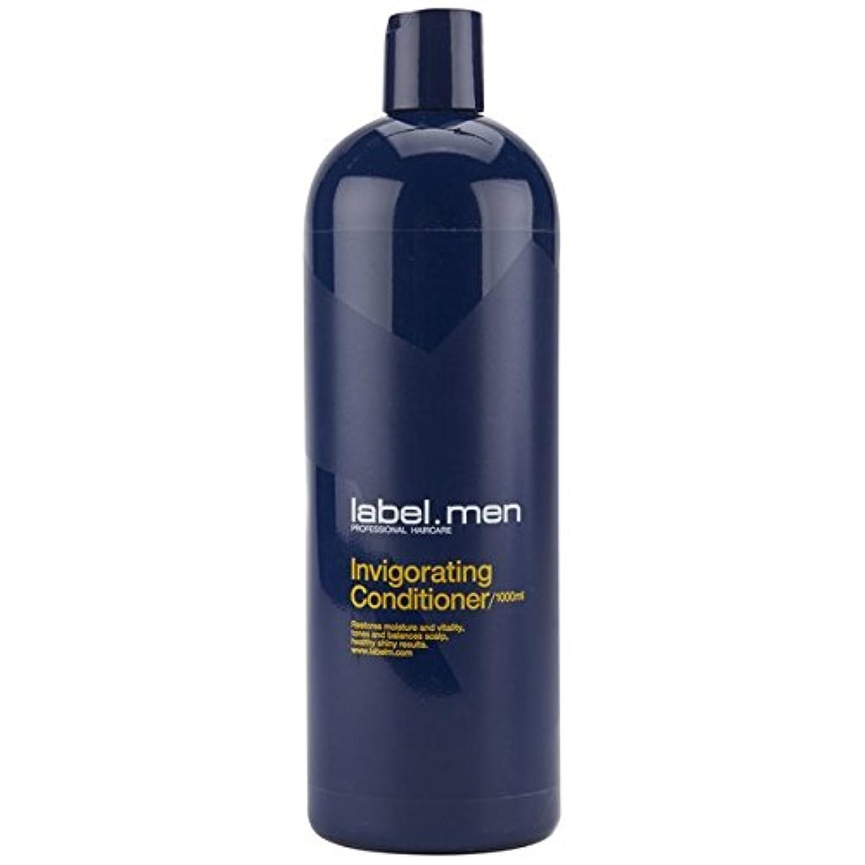 嫌な締める男らしさレーベルエム メンズ インビゴレーティング コンディショナー (髪と頭皮に潤いを与えて元気で輝きのある仕上がりに) 1000ml