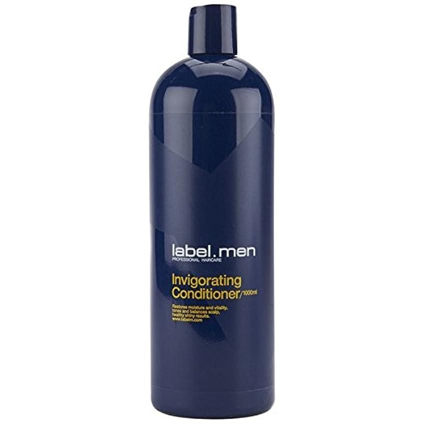 有限に賛成補償レーベルエム メンズ インビゴレーティング コンディショナー (髪と頭皮に潤いを与えて元気で輝きのある仕上がりに) 1000ml