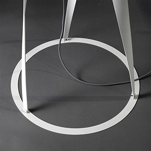 LEDS-C4 – MEDUSA Créoles Support Ø 550 mm pour tube Méduse Blanc