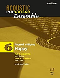 Happy: arrangiert für 4 Gitarren