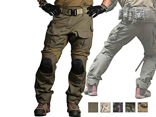 Paintball Equipment Emerson Gen3 Combat Pants Mens Duty Camo Airsoft Military Army Pants Ranger Green Large
