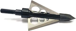 Supercaptain 100 Grain Broadheads Bowhunting Trocar Tip 3 Fix Blade Broadhead 1