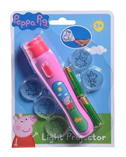 Simba Light Projector Proyector de luz Peppa Pig, Color 1. (109262386)