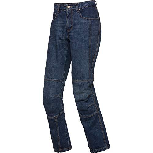 Spirit Motors Motorrad Jeans Motorradhose Motorradjeans Aramid/Baumwolljeans 3.0 blau 32/32, Herren, Chopper/Cruiser, Ganzjährig, Textil