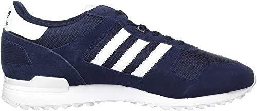 adidas Herren ZX 700 Sneaker, Blau (Night Navy/FTWR White/Collegiate Navy), 40 EU