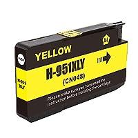 For HP950 Officejet Pro 8100 8600 8610 8620 8630 8625プリンタのトナーの高い収量作業のためのチップとのHP互換トナーカートリッジの取り替えのために yellow