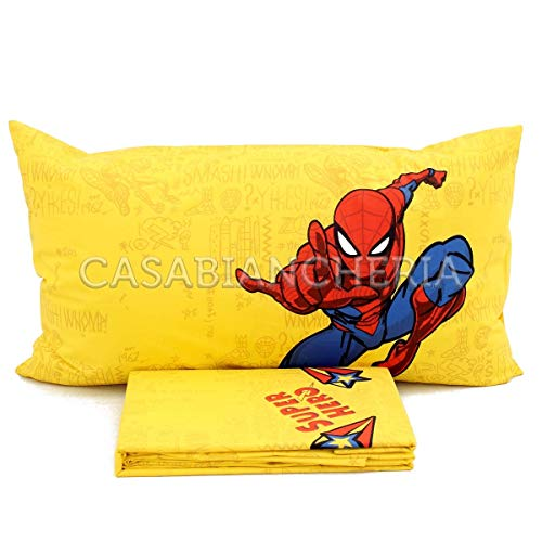 Completo Lenzuola Marvel Caleffi Spiderman Hero-Singolo