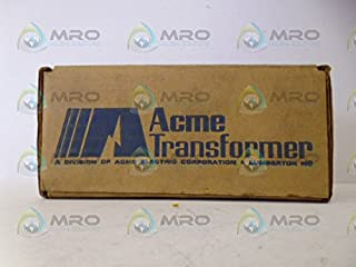 Acme Electric T153004 Low Voltage Distribution Transformer, Single Phase, 240 x 480 Primary Volts - 120/240 Secondary Volts, 0.05 kVA