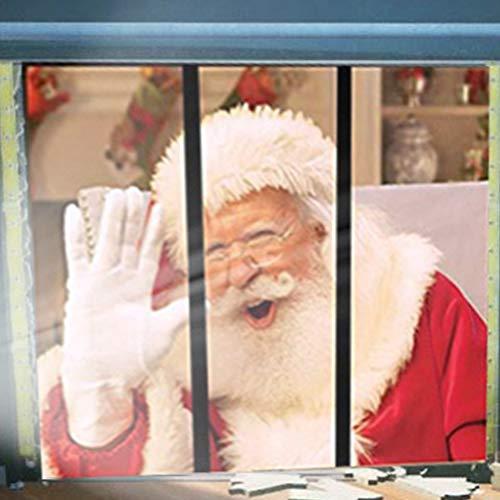 ARTOCT Projektor-Leinwand, Window Projektor Leinwand, Stoffrückwand für virtuelle Halloween und Weihnachten Fenster Projektion Videos