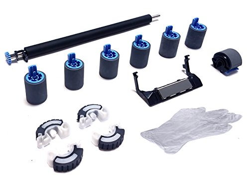 Altru Print 4000-RK13-AP Deluxe Roller Kit for HP Laserjet 4000/4050 & Canon LBP1760 / P370 (110V) with Transfer Roller, Tray 1 Roller Kit, Tray 2-4 Feed/Separation Rollers & Tray 2 Pickup Rollers