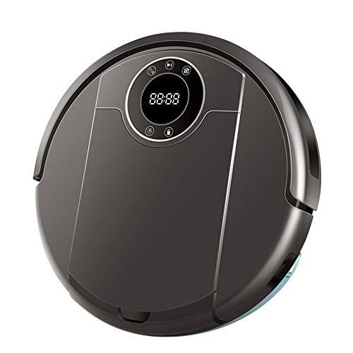 Robot Aspiradora, Aplicación WiFi, Succión De 3000Pa, Navegación para Mapas, Memoria Inteligente, Lámpara UV, Trapeador Seco Mojado, Motor Sin Escobillas