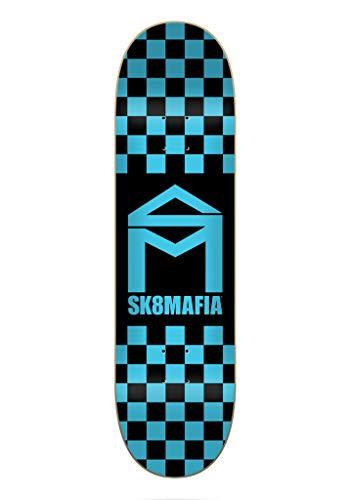 SK8 Mafia Tavola House Logo Checker Blue 8.3