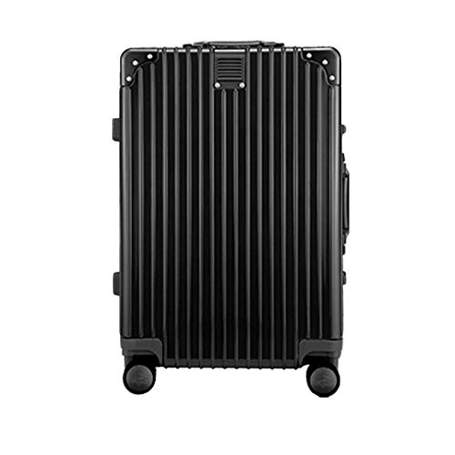 Luggage with Spinner Wheels, Expandable Strong and Sturdy with TSA Lock Spinner Carry-On High Quality Suitcase for Traveling Adults Aircraft-61 cm(22')-Rose Gold