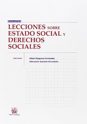 Lecciones Sobre Estado Social y Derechos Sociales (Manuales de Derecho Constitucional)