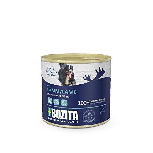 Bozita Dog Dose Pate Lamm | 12x625g Hundenassfutter