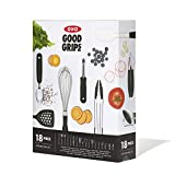 OXO Good Grips 18-Piece Everyday Kitchen Utensil Set
