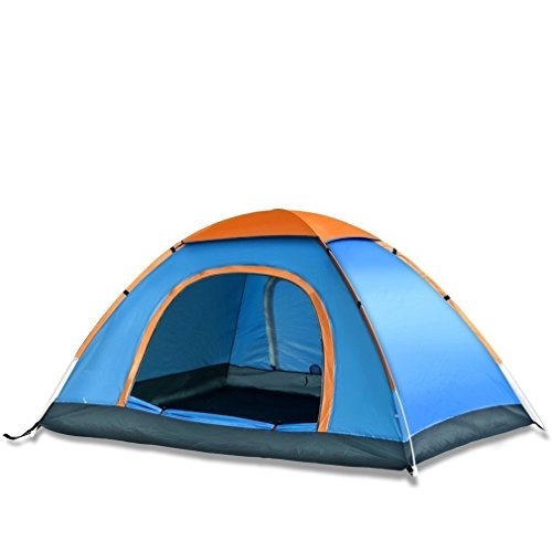 YFXOHAR Picnic Hiking Camping Portable Dome Tent for 4 Person Waterproof with Bag