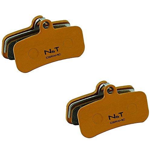2 x Noah and Theo nt-bp018/CR Keramik SCHEIBENBREMSEN BREMSBELÄGE Passform Shimano ZEE BR-M640, Heiligen BR-M810 und br-m820. auch kompatibel mit Polster Modelle H01A, H03C, D01S and D02S