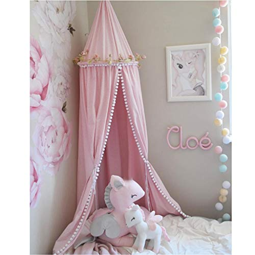 Tents for Bedroom Camping, Kids Dome Lace Bedding Outdoor Round Instant Tent Bed Canopy Bedroom Princess Camping Tent