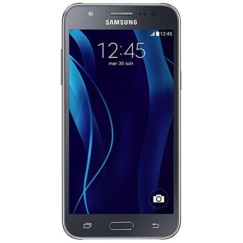 SAMSUNG SM-J500FZKAXEF Galaxy J5 Smartphone (8GB Speicher, Festnetz 4G, Display 12,7 cm (5 Zoll) Super AMOLED) schwarz