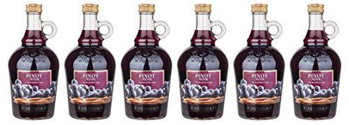 """Crama Bostavan   CRONICA VINULUI Pinot Noir – Rotwein lieblich aus Moldawien 1 L + 1 Kugelschreiber """"Amigo Spirits"""" gratis"""