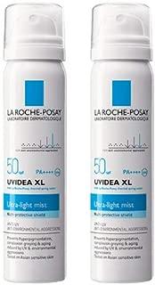 2本セット La Roche-Posay(ラロッシュポゼ) 敏感肌用 日やけ止めスプレー UVイデア XL プロテクションミスト SPF50/PA++++ 50g