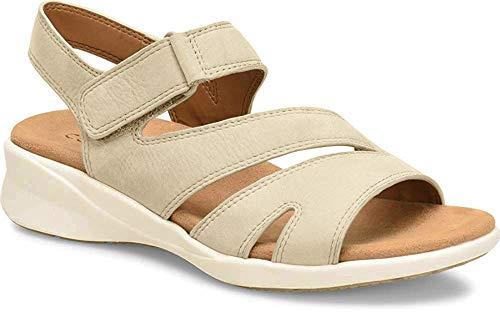 Comfortiva Women's, Tippa Low Heel Sandal Platino 9.5 M