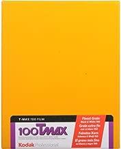 "KODAK T-Max 100, 100TMX, Black & White Negative Film ISO 100, 4 x 5"" (10 Sheets)"