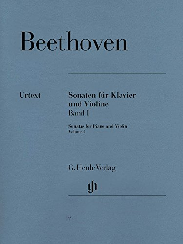Sonaten für Klavier und Violine, Band I [Lingua tedesca]