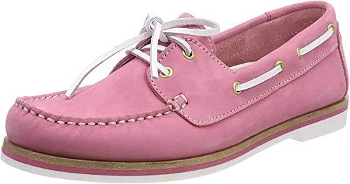 Tamaris Damen 23616 Mokassin, Pink (Pink Nubuc), 38 EU
