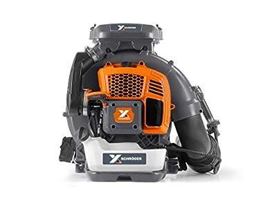 Schröder Germany Industrial Backpack Leaf Blower 5-Year Warranty Model: SR-9900X
