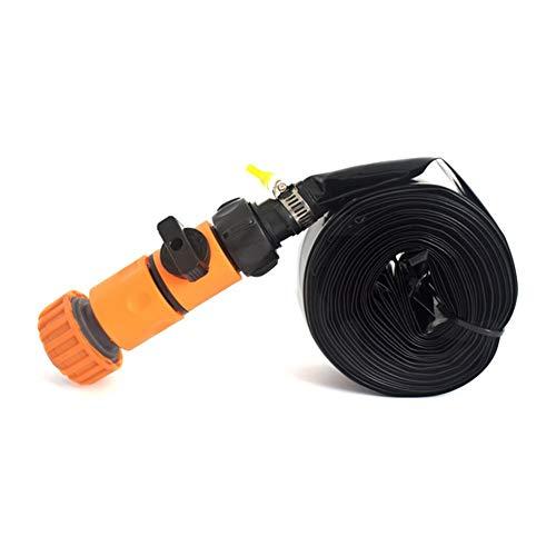 Confianza Verano Agua Trampolín pulverizador de rociadores for los kits de herramientas de riego de jardines al aire libre Juegos de agua de juguete ahorro de riego Tela ( Color : 8 meters Yellow )