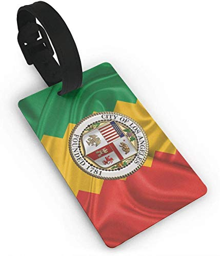 Flagge von Los Angeles City Lage Tasche Tags Reise Tags Reise ID Tag