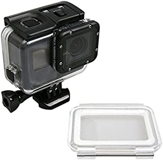 Zhhlinyuan Waterproof Protective Case + Touchable Back Cover カメラ Accessories for Hero 5