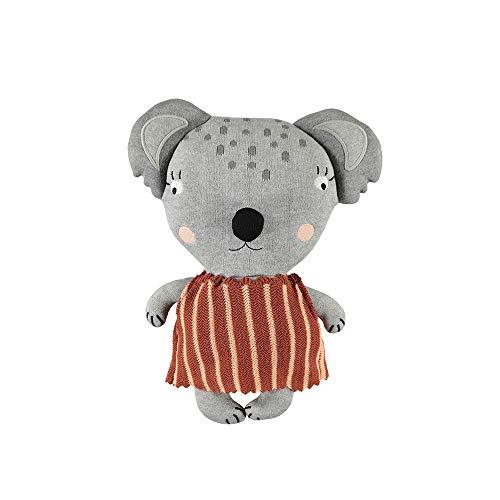 OyOy Mini Mami Koala Stofftier Koalabär - Süßes Baby Kinder Kissen Kuschelkissen und Schmusekissen - Baumwolle 38x28x12 cm