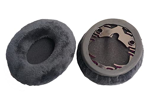 V-MOTA QuickFit Protein Leather Replacement Ear Pads for Bose On-Ear OE, OE1, QuietComfort QC3 Headphones Earpads, Headset Ear Cushion Repair Parts (Flannelette)