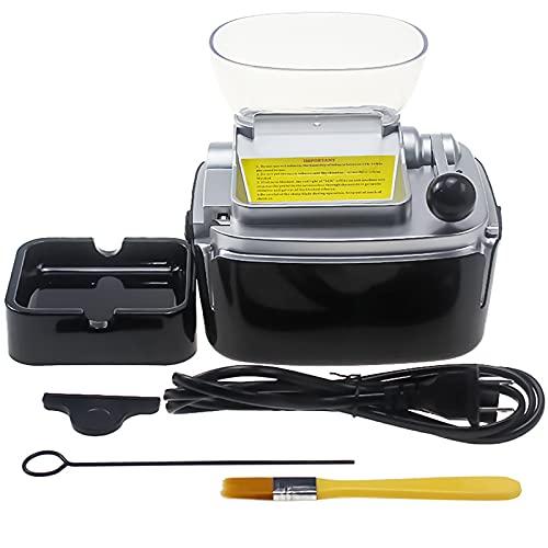 XIHAI Maquina Liar Tabaco Casa Grande, Maquina de Tabaco electrica Llenado automático de Humo 6,5 mm, Maquina entubar electrica Llenado Profesional Regalo del Padre