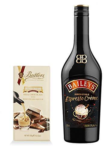 Baileys Espresso Creme irischer Likör + 1 Tafel Irish Cream Schokolade