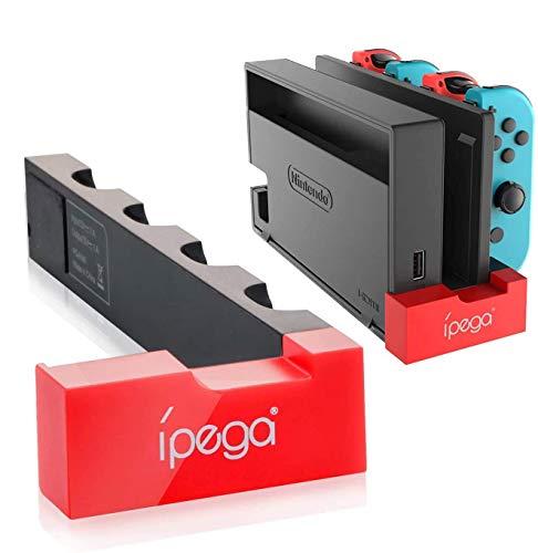 【2020最新発売】ipega PG-9186 Joy-Conハンドル 充電 ホルダー 4台同時充電 Joy-Con 充電器 収納 一体型 ...