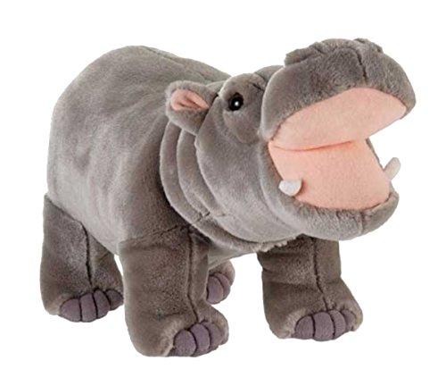 Fiesta Toys Standing Hippo Hippopotamus Plush Stuffed Animal, 14'