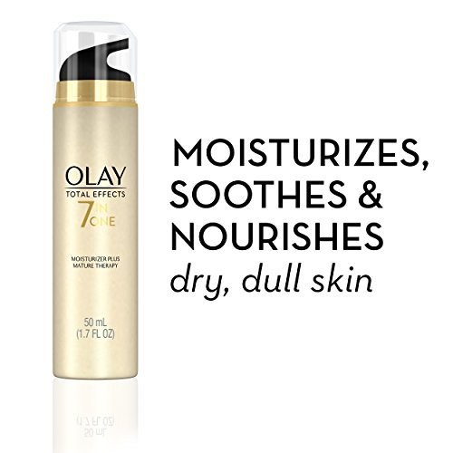 41eRa769wTL - Face Moisturizer by Olay Total Effects 7-In-1 Moisturizer Plus, Mature Therapy, 1.70 Fl. Oz.