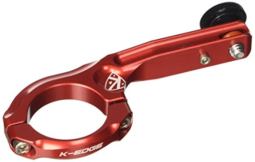K-Edge houder GO BIG 1/4 inch 20 H-bar Mount K13-440, rood, 352004003