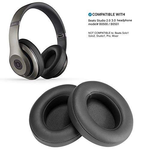 WADEO Beats Studio 2 Ohrpolster Titan 3.0 B0500 B0501 Kopfhörer Wireless Ersatz Ohrpolster Polster