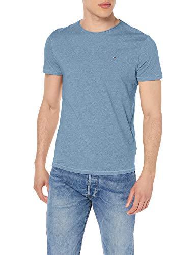 Tommy Jeans Tjm Essential Jaspe Tee Pantaloni, Denim Vintage, L Uomo