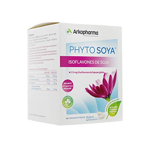 Phyto Soya 35mg Formule Intense 180 gélules Arkopharma