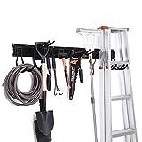 NETWAL Garage Organizer Wall Mount 12 Pack,Garden Tool Storage Racks,Adjustable ,Heavy Duty Metal Hanger,Max 265 lbs