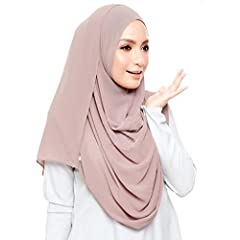 """Perfect size : 70.7""""Lx27.5""""W. (180cm x70cm) ,Material :Bubble chiffon (100% polyester label) Touch & Feel: Very Soft and LightWeight.Vertical.Perfect Anytime, for Any Season(Spring, Summer or Autumn.Winter) Various Outfits and Any Occasion Design usa..."""