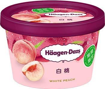 ハーゲンダッツ『ミニカップ 白桃』